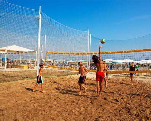 Partita a beach volley